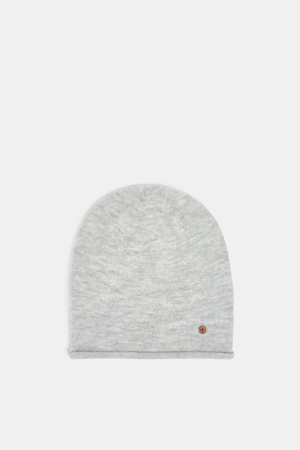 edc - Knit beanie with rolled edges