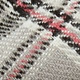 Scarf with colourful woven check pattern, GREY, swatch