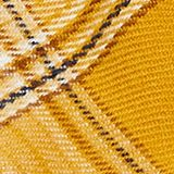 Scarf with colourful woven check pattern, HONEY YELLOW, swatch