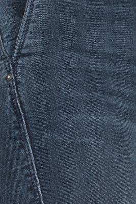 Stretch jeans with a button fly
