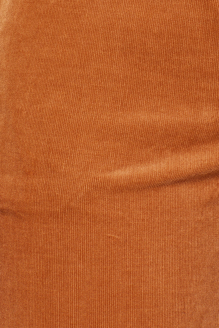 Stretch cord chinos, CARAMEL, detail image number 4