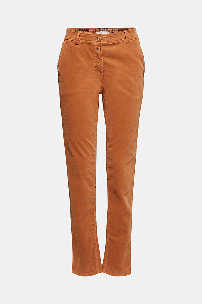Stretch cord chinos, CARAMEL, detail image number 8