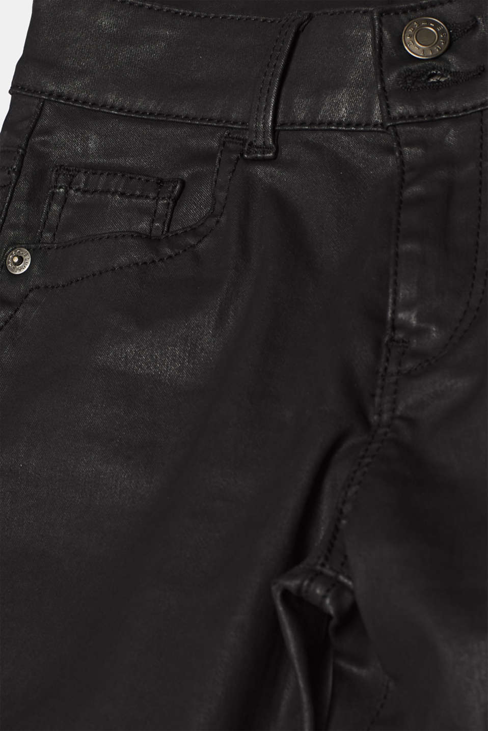 Pants woven, BLACK, detail image number 4