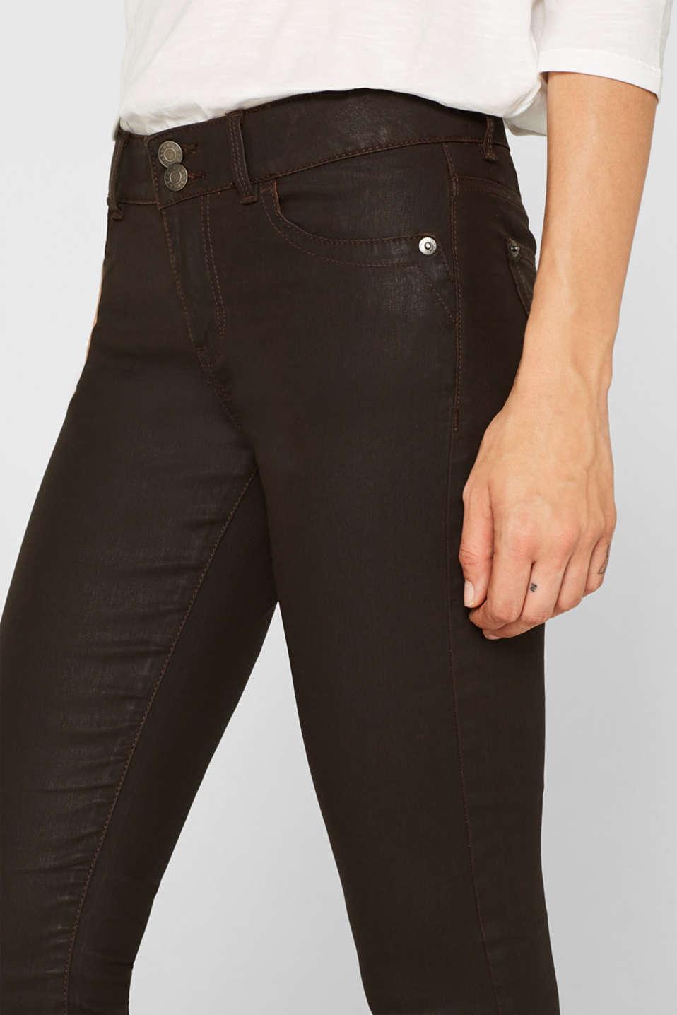 Pants woven, DARK BROWN, detail image number 2