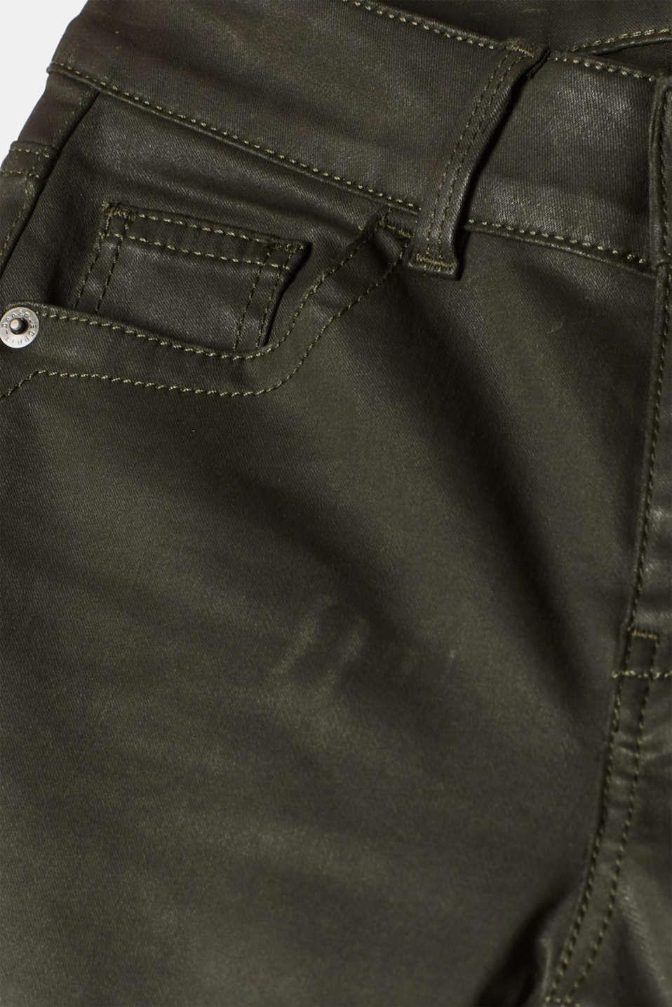 Pants woven, KHAKI GREEN, detail image number 4