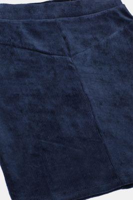 Jersey cord skirt