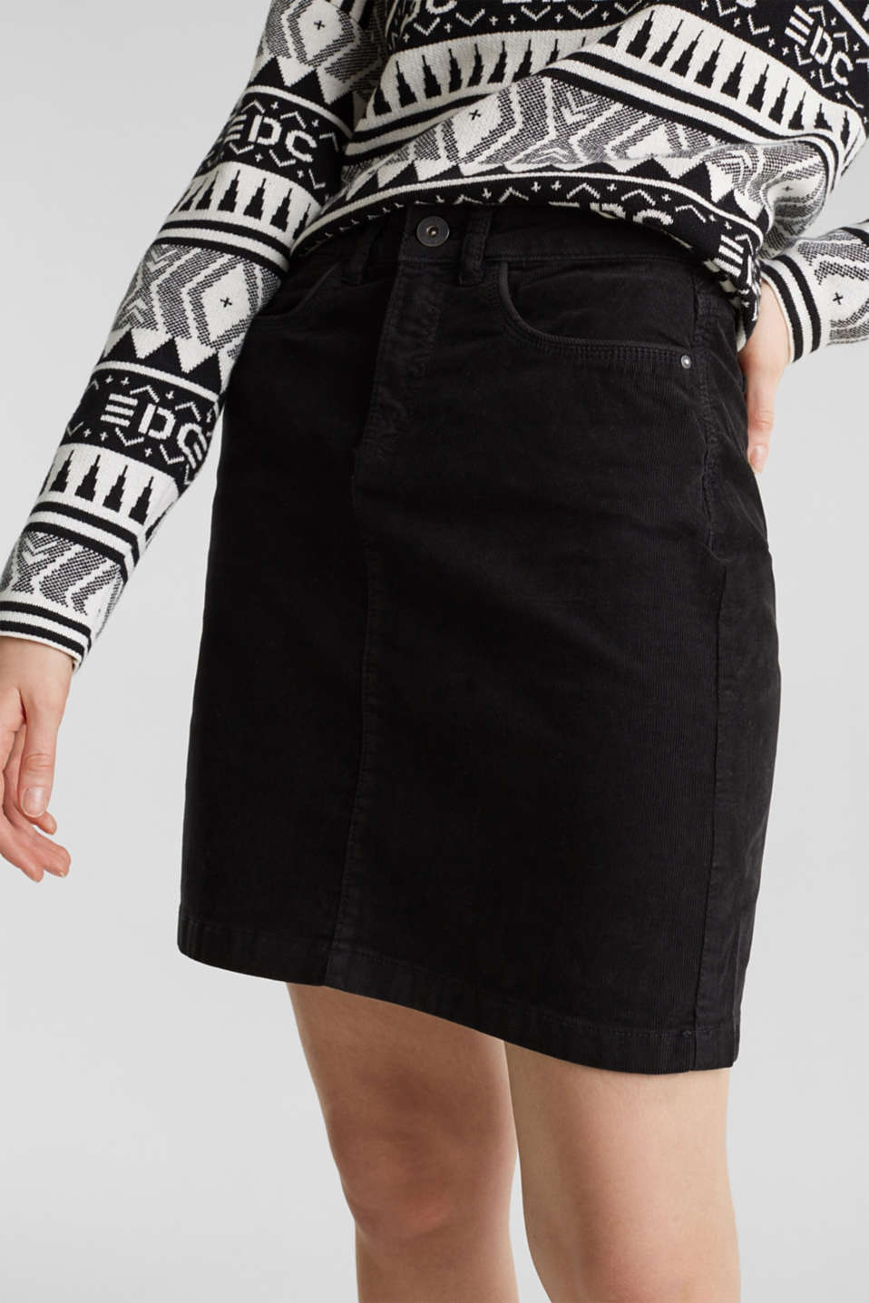 Skirts woven, BLACK, detail image number 2