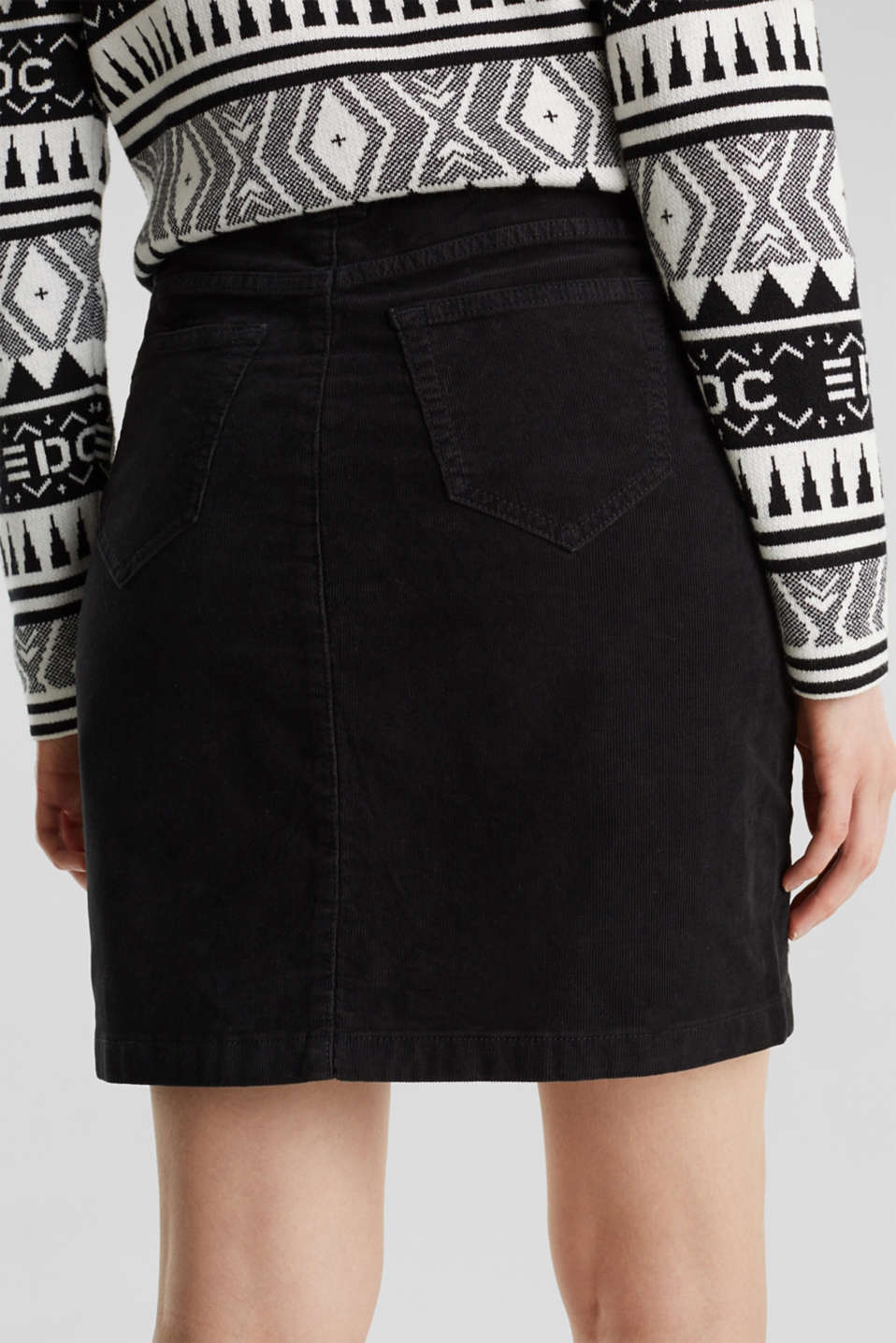 Skirts woven, BLACK, detail image number 5
