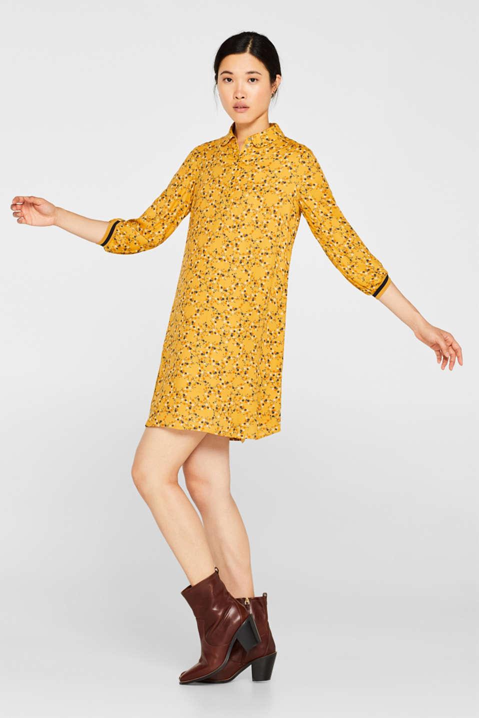 Dresses light woven, HONEY YELLOW, detail image number 0
