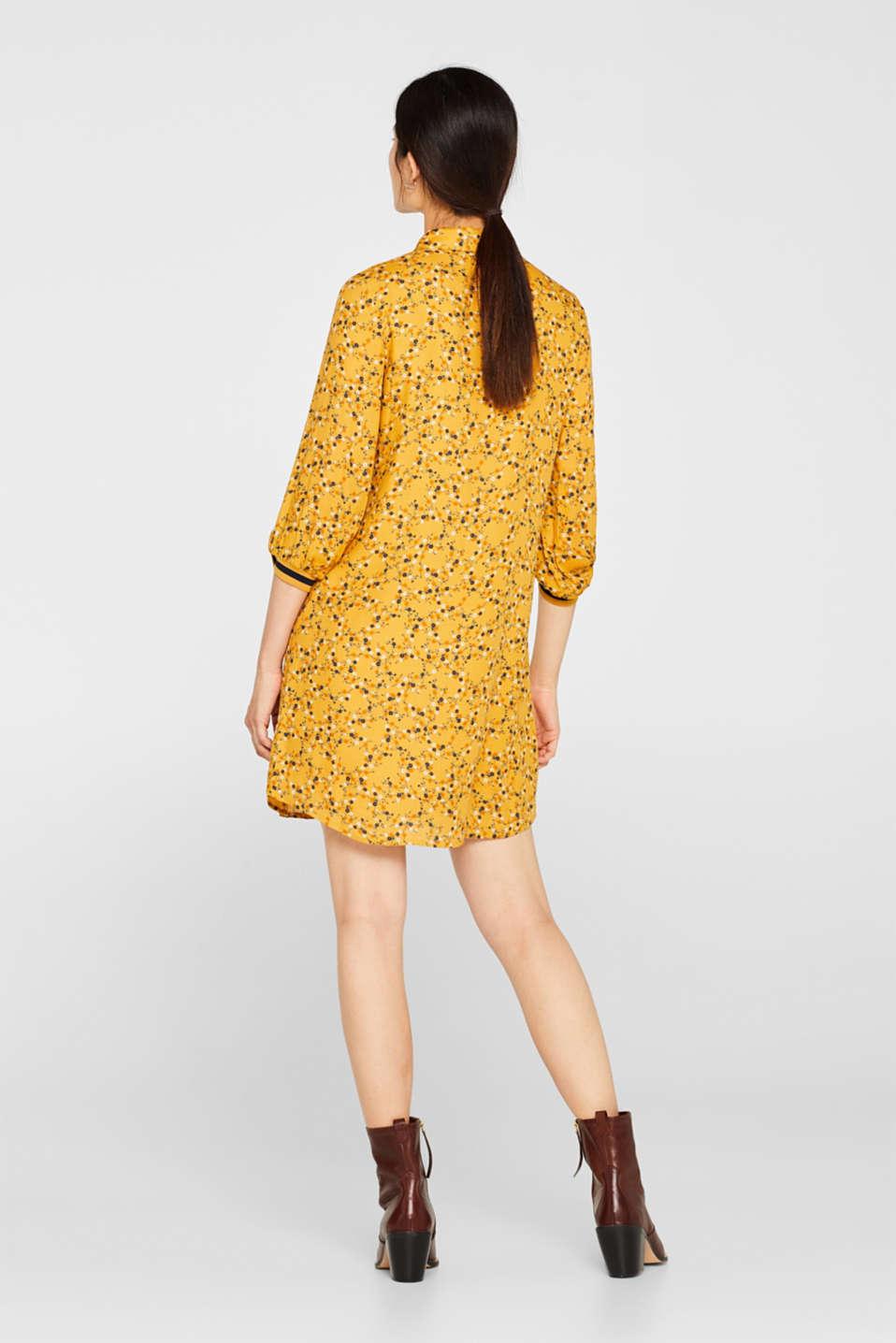 Dresses light woven, HONEY YELLOW, detail image number 2