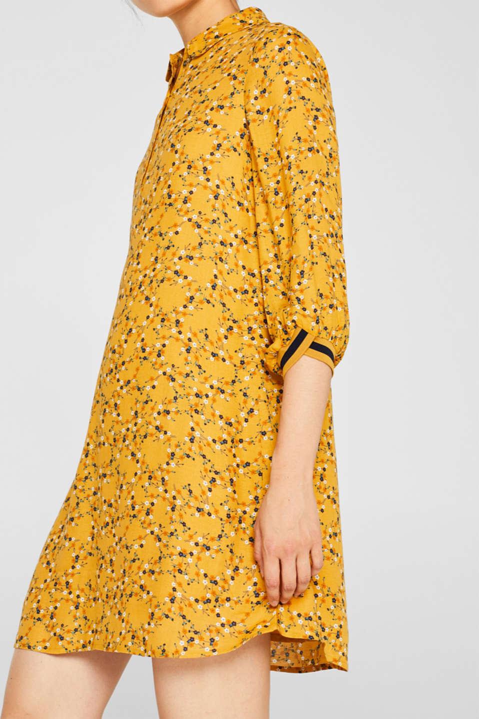 Dresses light woven, HONEY YELLOW, detail image number 3