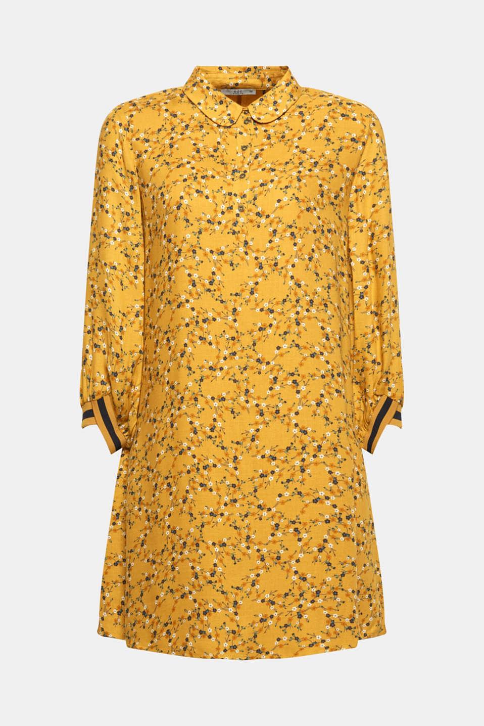 Dresses light woven, HONEY YELLOW, detail image number 6