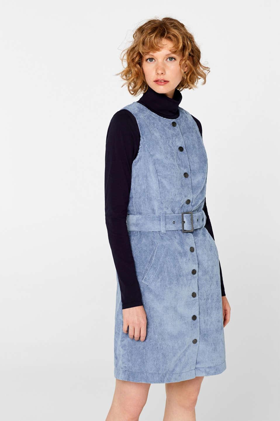 Dresses woven, GREY BLUE, detail image number 0