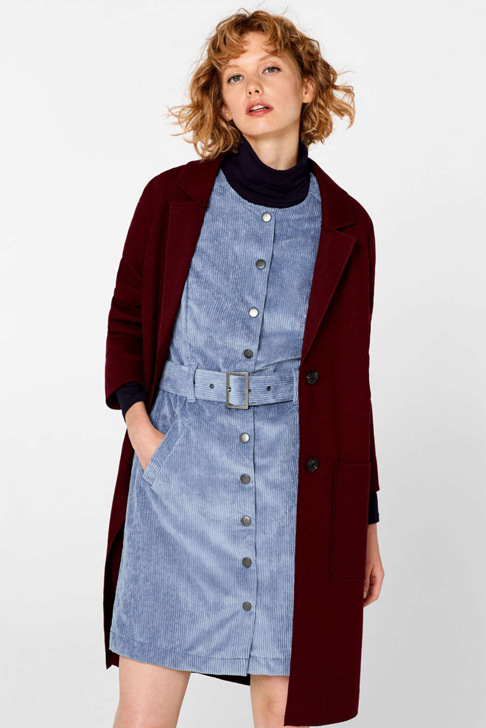 Dresses woven, GREY BLUE, detail image number 1