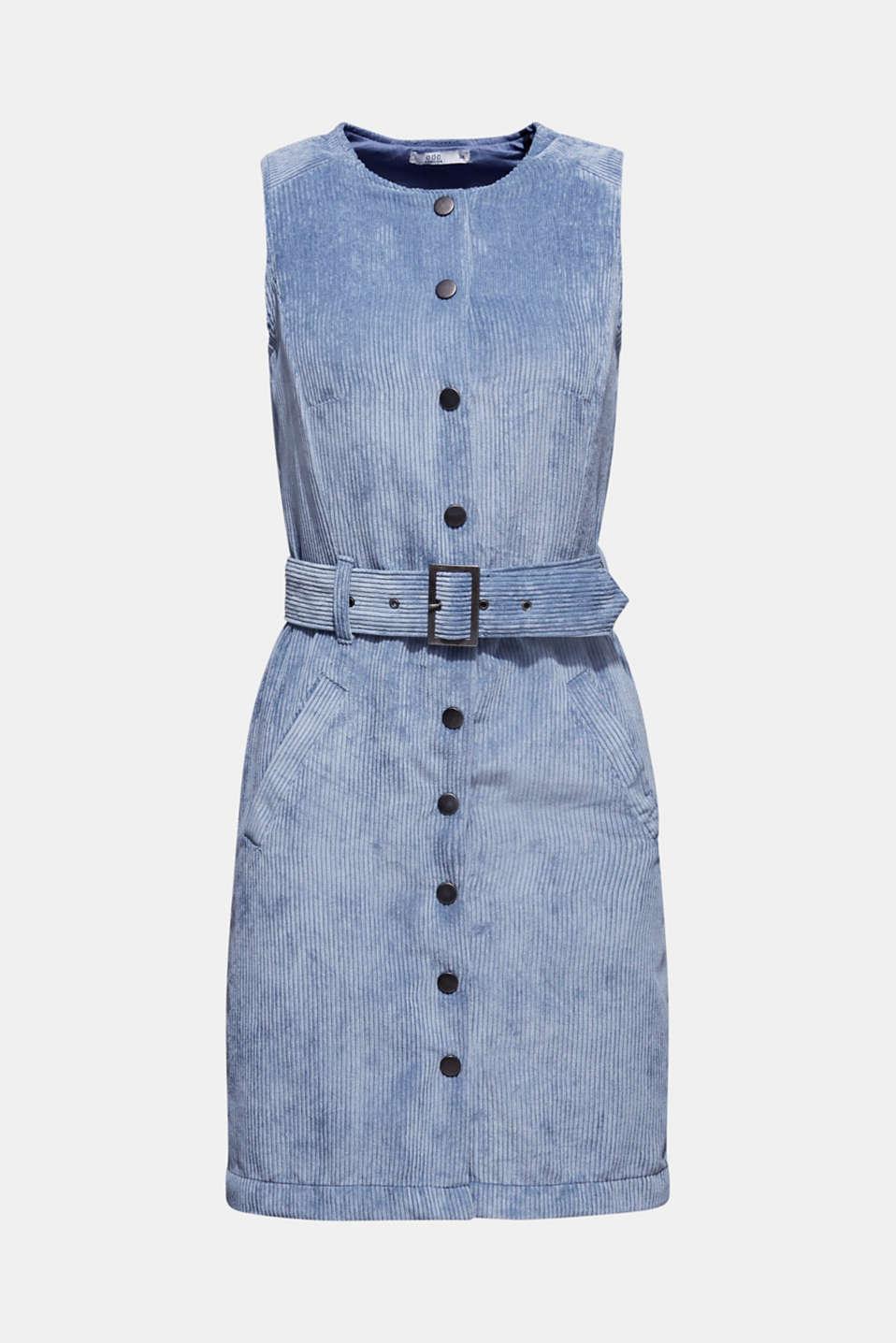 Dresses woven, GREY BLUE, detail image number 7