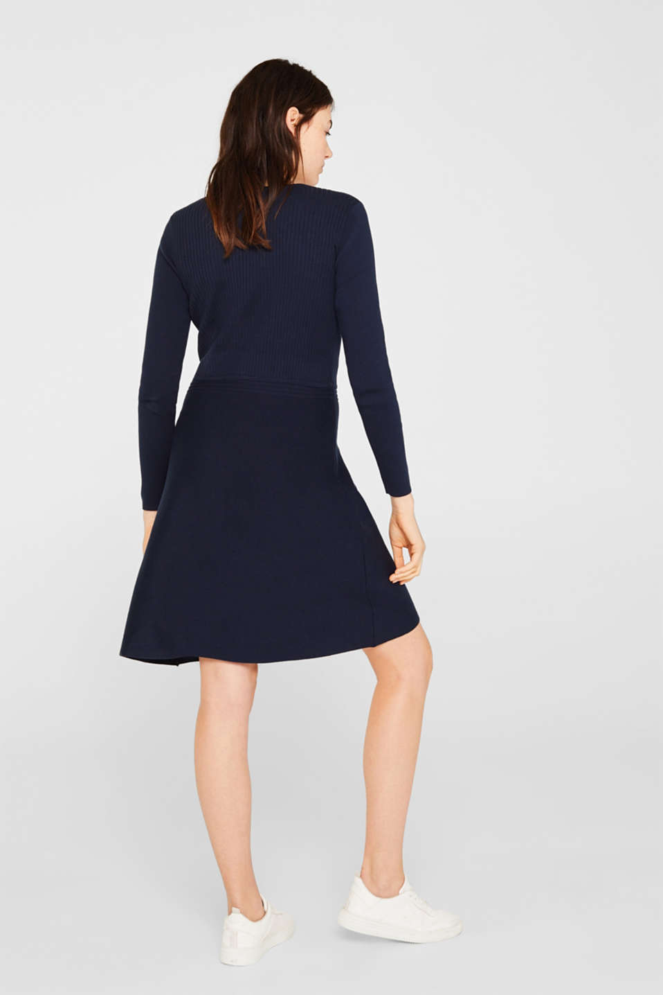 Dresses flat knitted, NAVY 2, detail image number 2