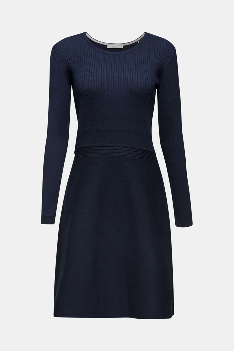 Dresses flat knitted, NAVY 2, detail image number 6
