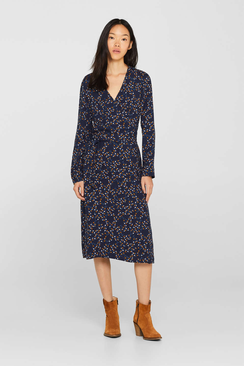 Dresses woven, NAVY, detail image number 1