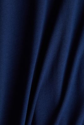 Blouse made of a material mix, NAVY 2, detail