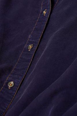 Shirt blouse made of lyocell, NAVY 2, detail