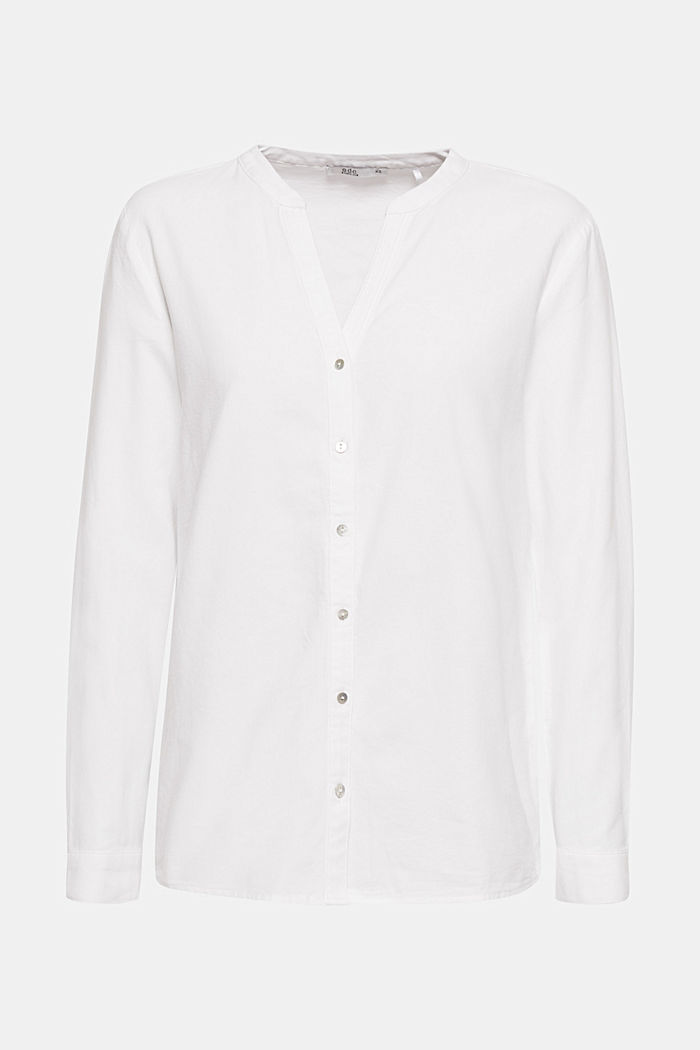 Oxford blouse, 100% cotton