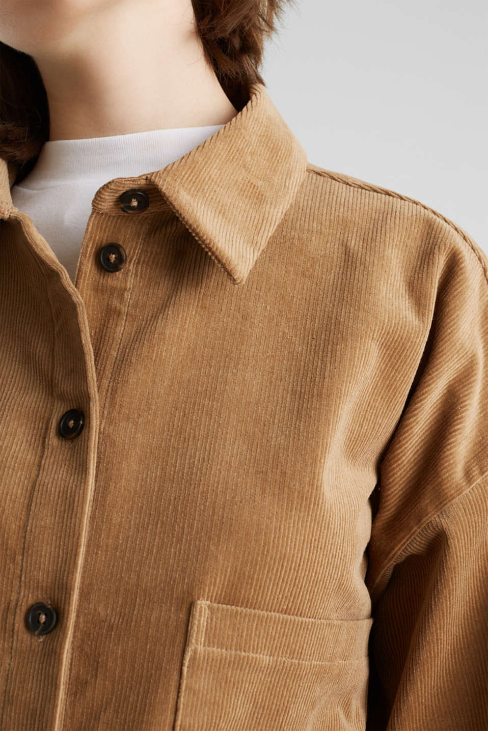 Blouses woven, CAMEL, detail image number 2