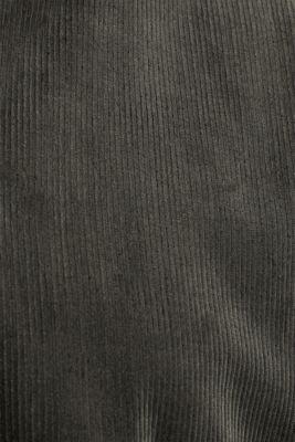 Oversized corduroy blouse, KHAKI GREEN, detail