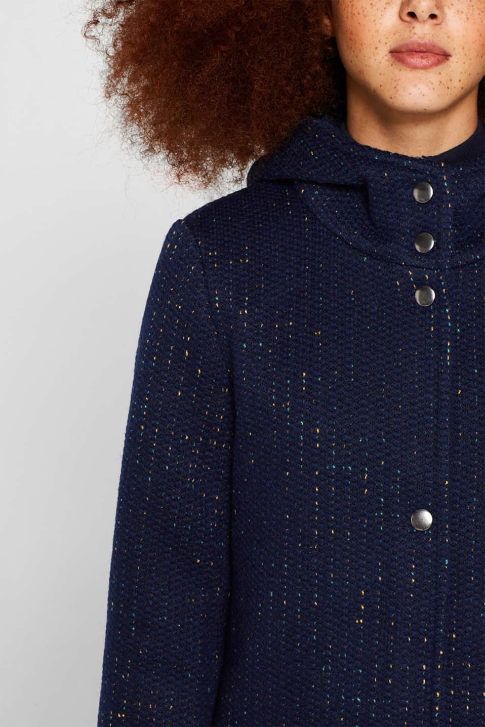 Jackets outdoor woven, NAVY, detail image number 2