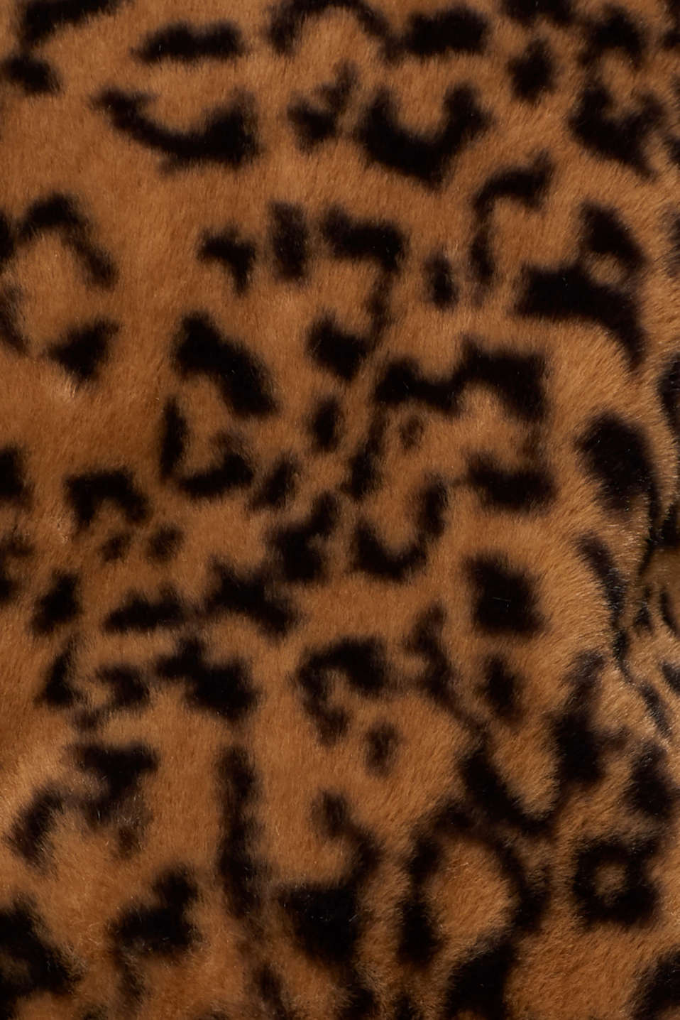 Faux fur jacket with hood, CAMEL, detail image number 4