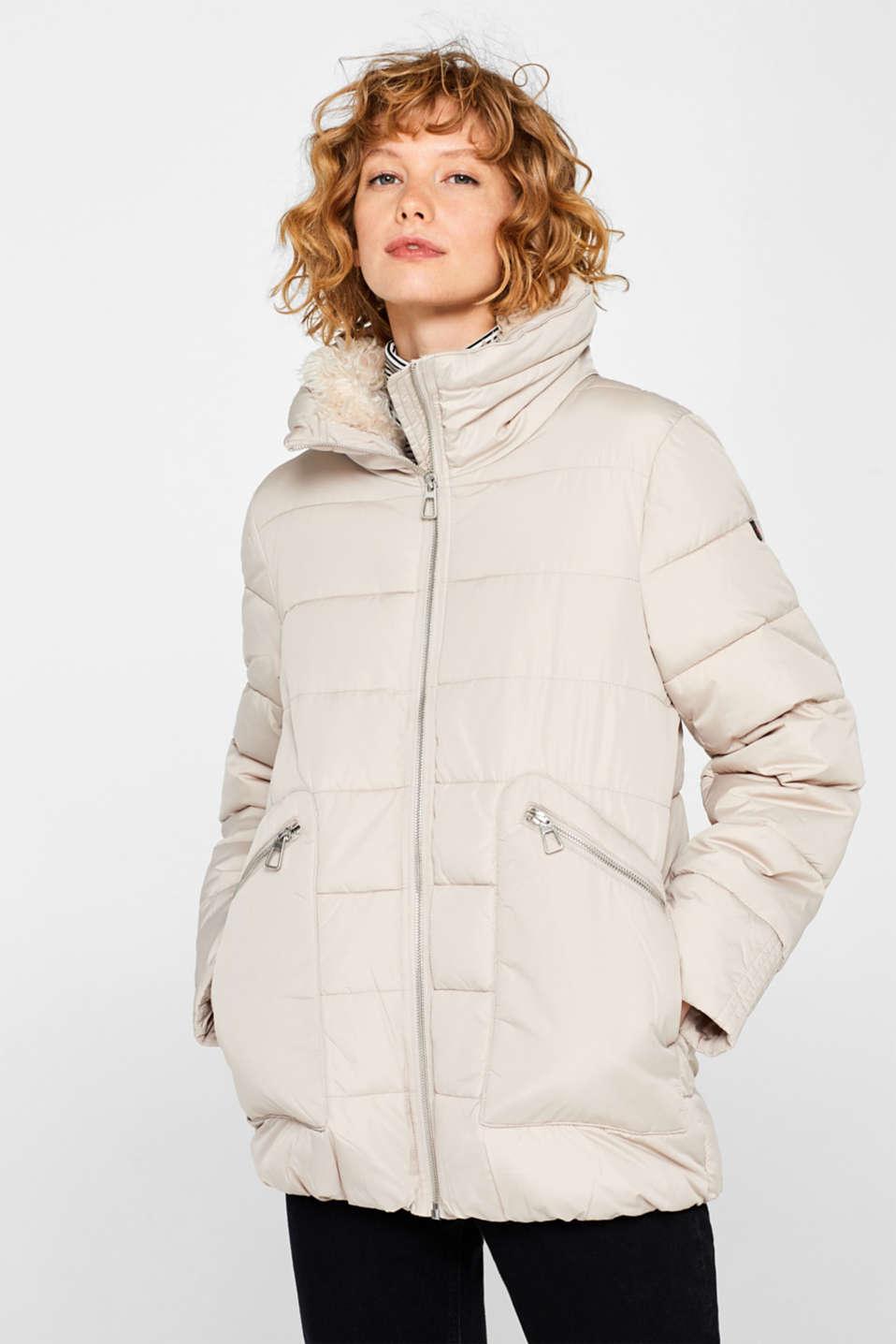 Jackets outdoor woven, LIGHT BEIGE, detail image number 0