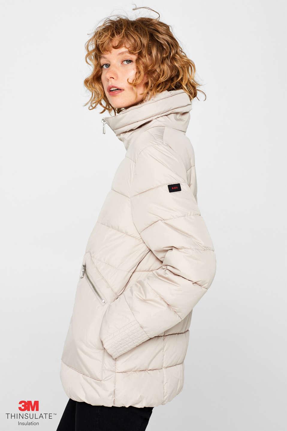 Jackets outdoor woven, LIGHT BEIGE, detail image number 5