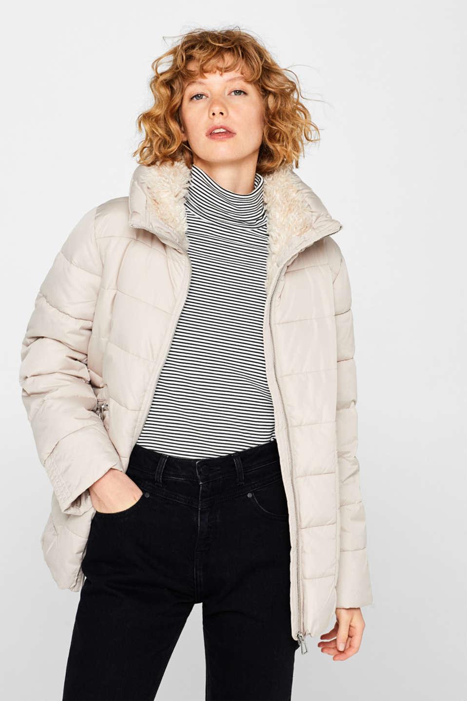 Jackets outdoor woven, LIGHT BEIGE, detail image number 7