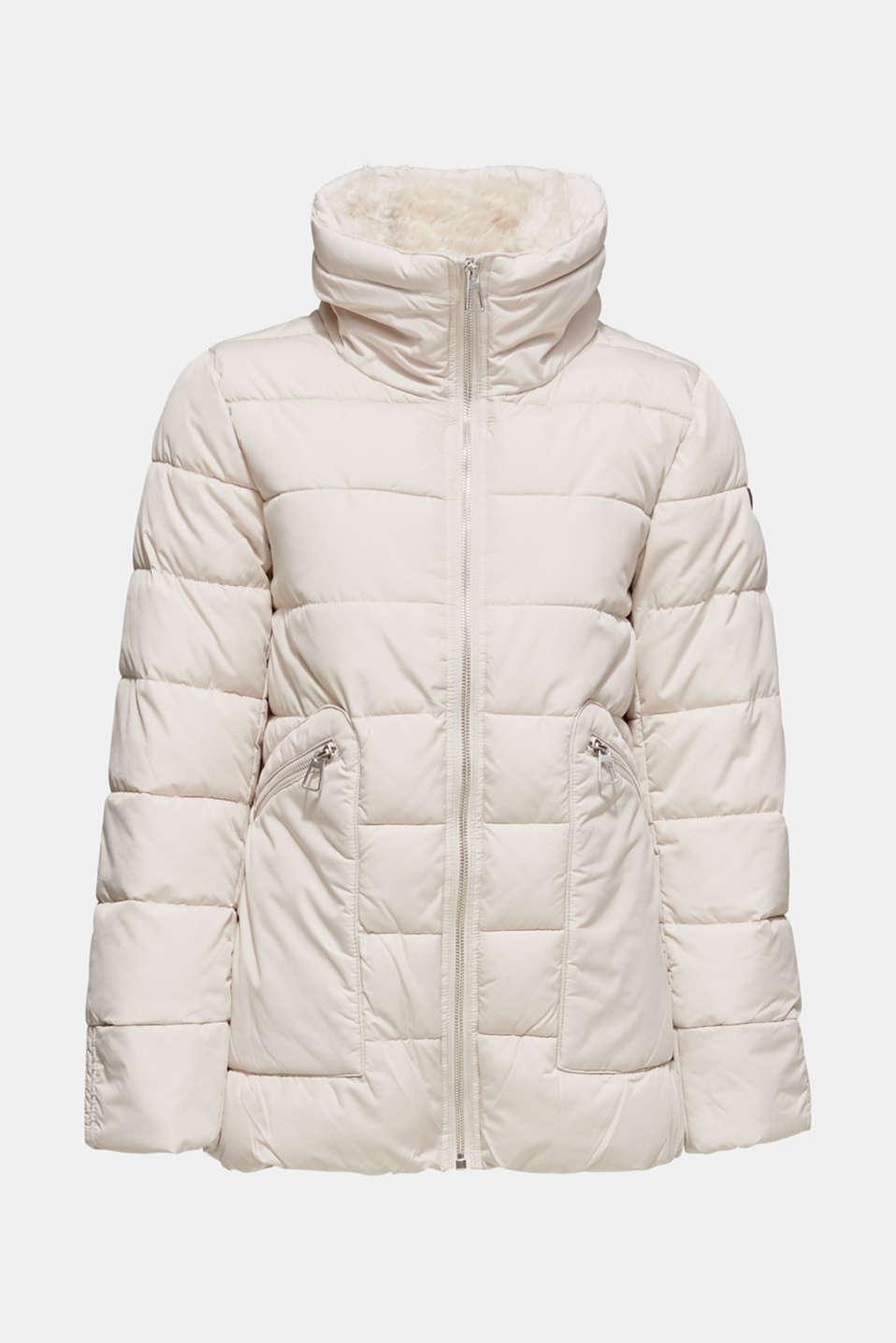 Jackets outdoor woven, LIGHT BEIGE, detail image number 8