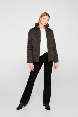 Quilted jacket with 3M™ Thinsulate™ technology, ANTHRACITE 5, detail