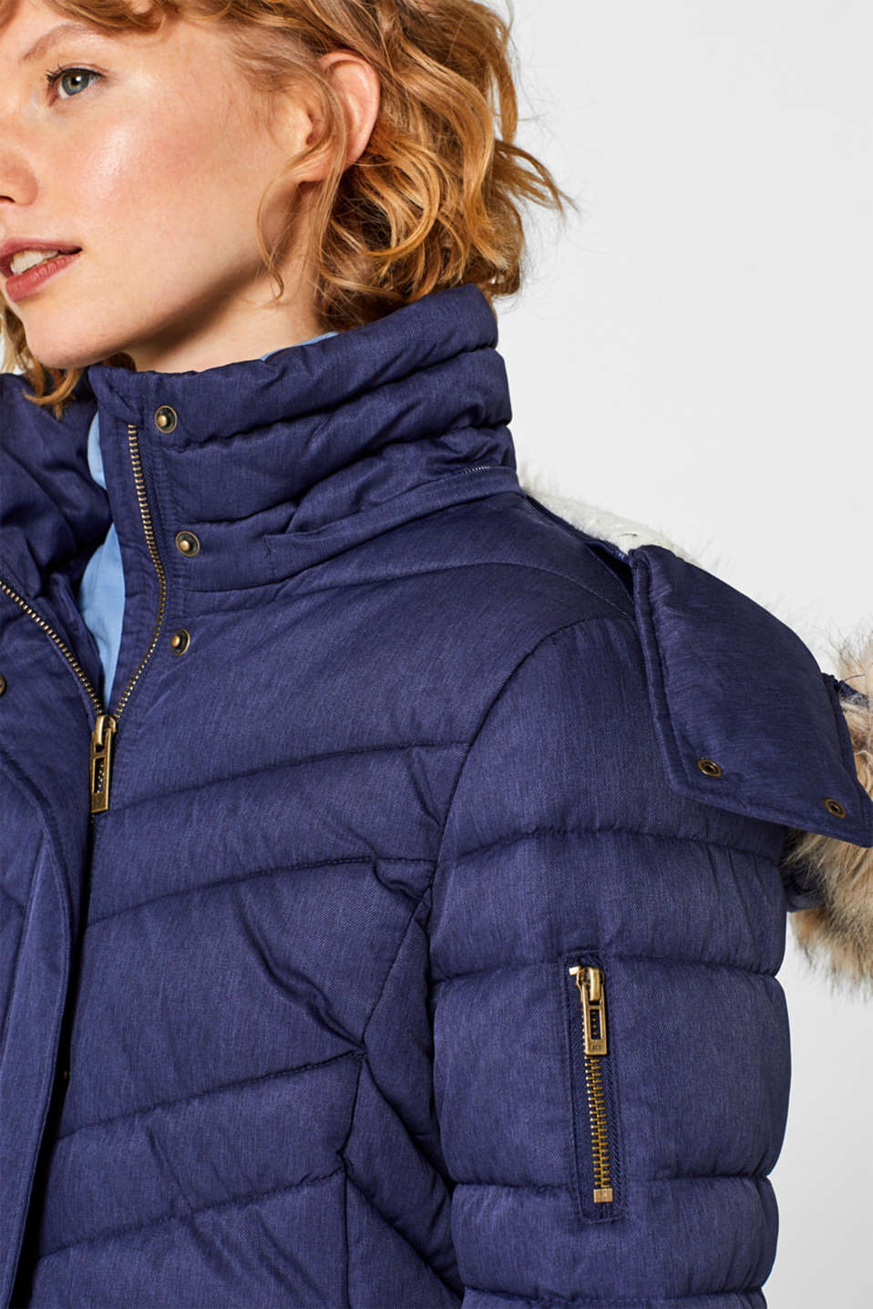 Quilted jacket with 3M™ Thinsulate™ technology, INK 5, detail image number 2