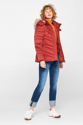 Quilted jacket with 3M™ Thinsulate™ technology, DARK RED 5, detail