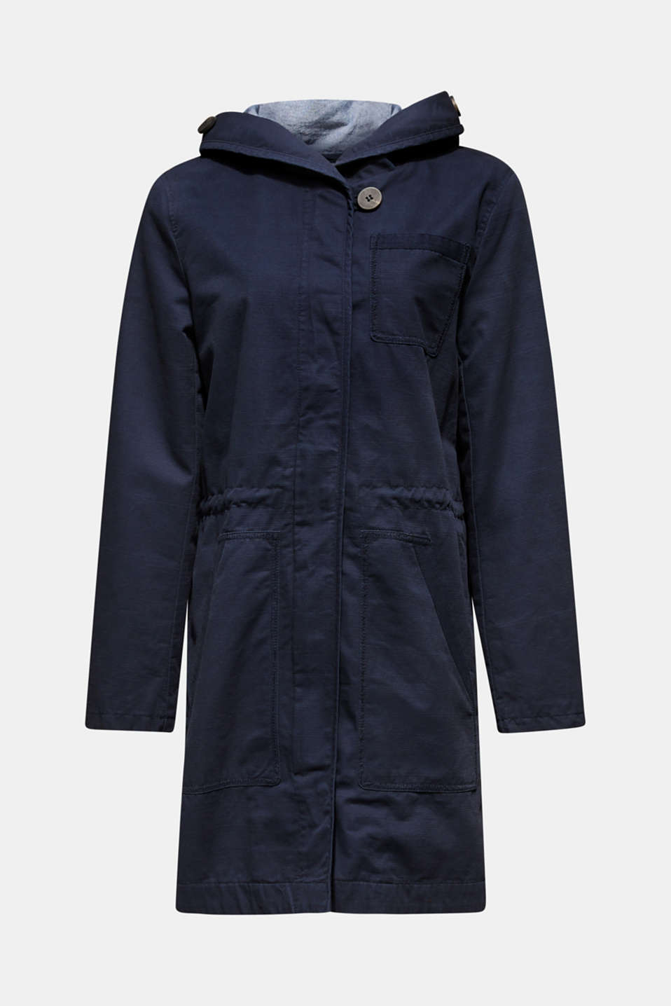 Coats woven, NAVY, detail image number 9