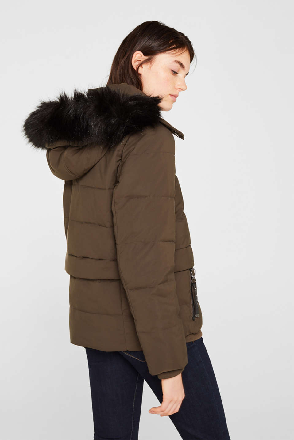 Jacket with 3M™ Thinsulate™ padding, DARK KHAKI, detail image number 3