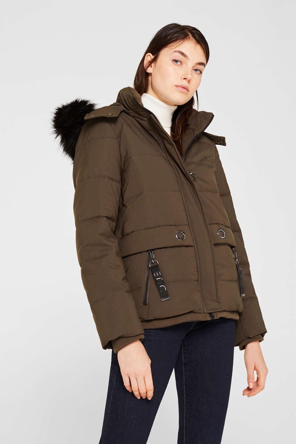 Jacket with 3M™ Thinsulate™ padding, DARK KHAKI, detail image number 6