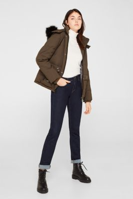 Jacket with 3M™ Thinsulate™ padding, DARK KHAKI, detail