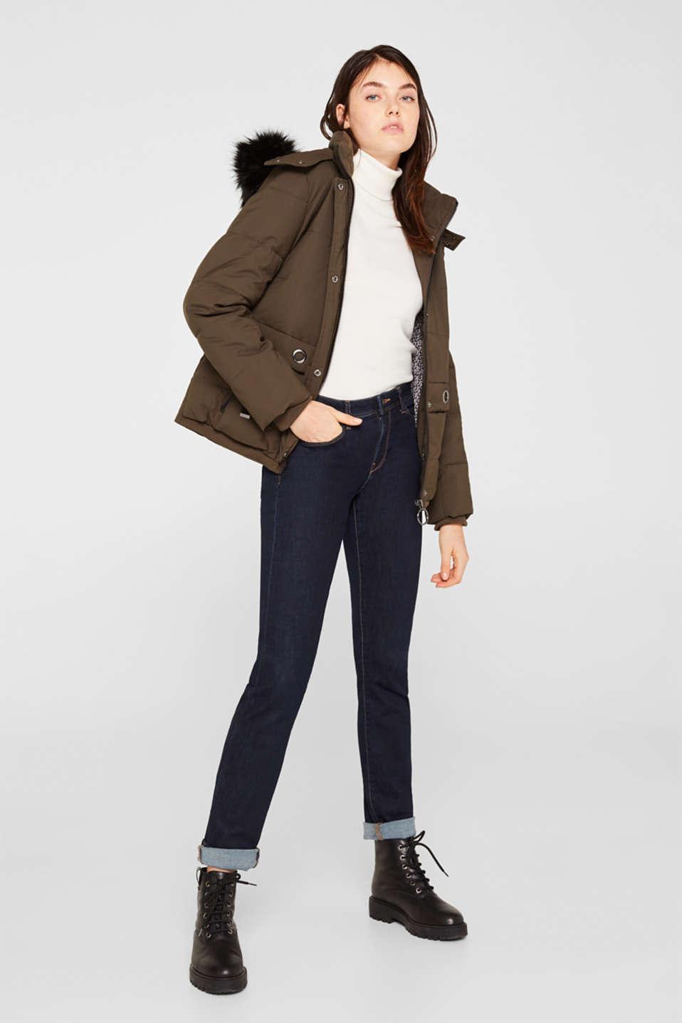 Jacket with 3M™ Thinsulate™ padding, DARK KHAKI, detail image number 1