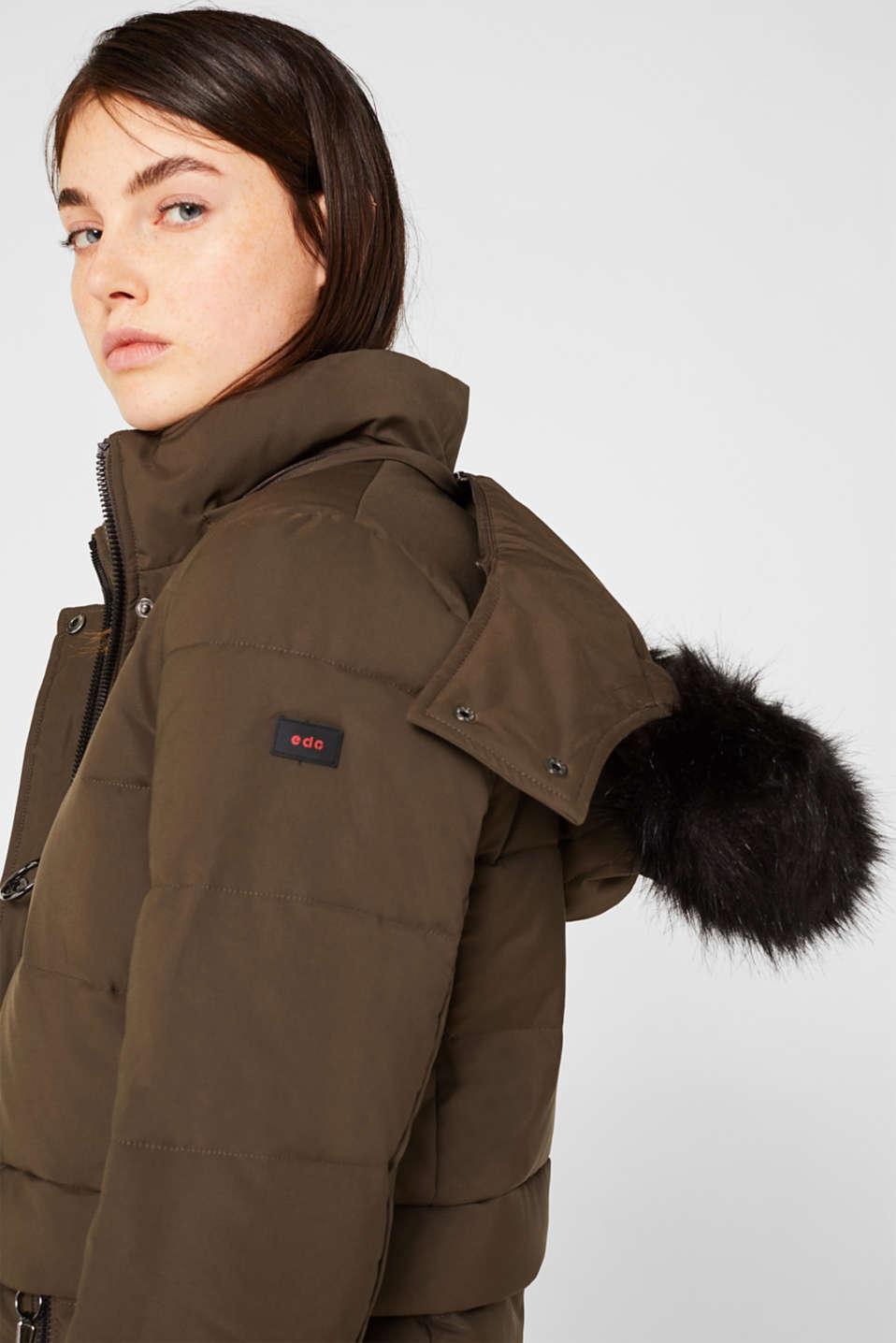 Jacket with 3M™ Thinsulate™ padding, DARK KHAKI, detail image number 7