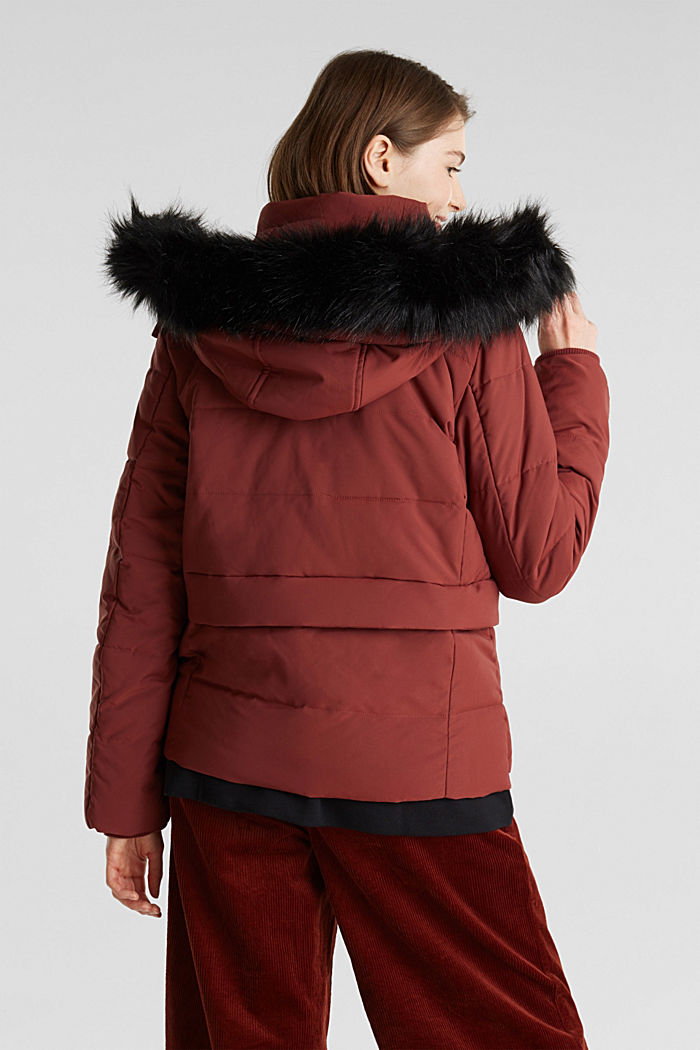 Jacket with 3M™ Thinsulate™ padding, TERRACOTTA, detail image number 3