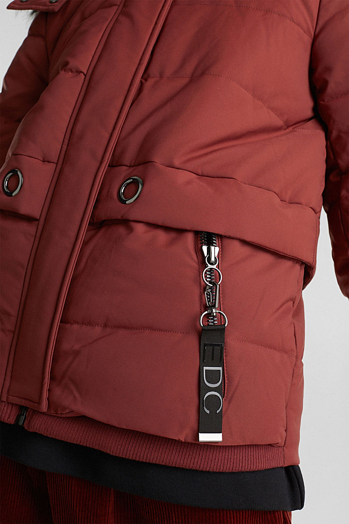 Jacket with 3M™ Thinsulate™ padding, TERRACOTTA, detail image number 5