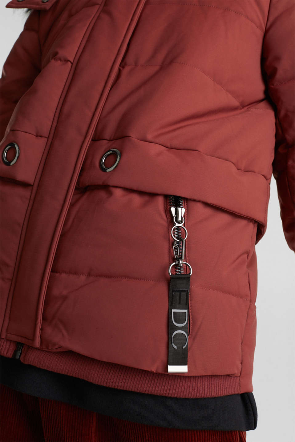Jackets outdoor woven, TERRACOTTA, detail image number 5