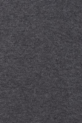 Basic polo neck jumper, DARK GREY 5, detail