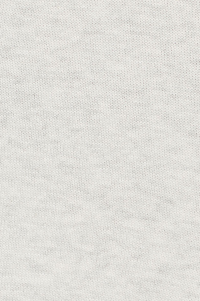 Jumper with colour blocking, LIGHT GREY, detail image number 4