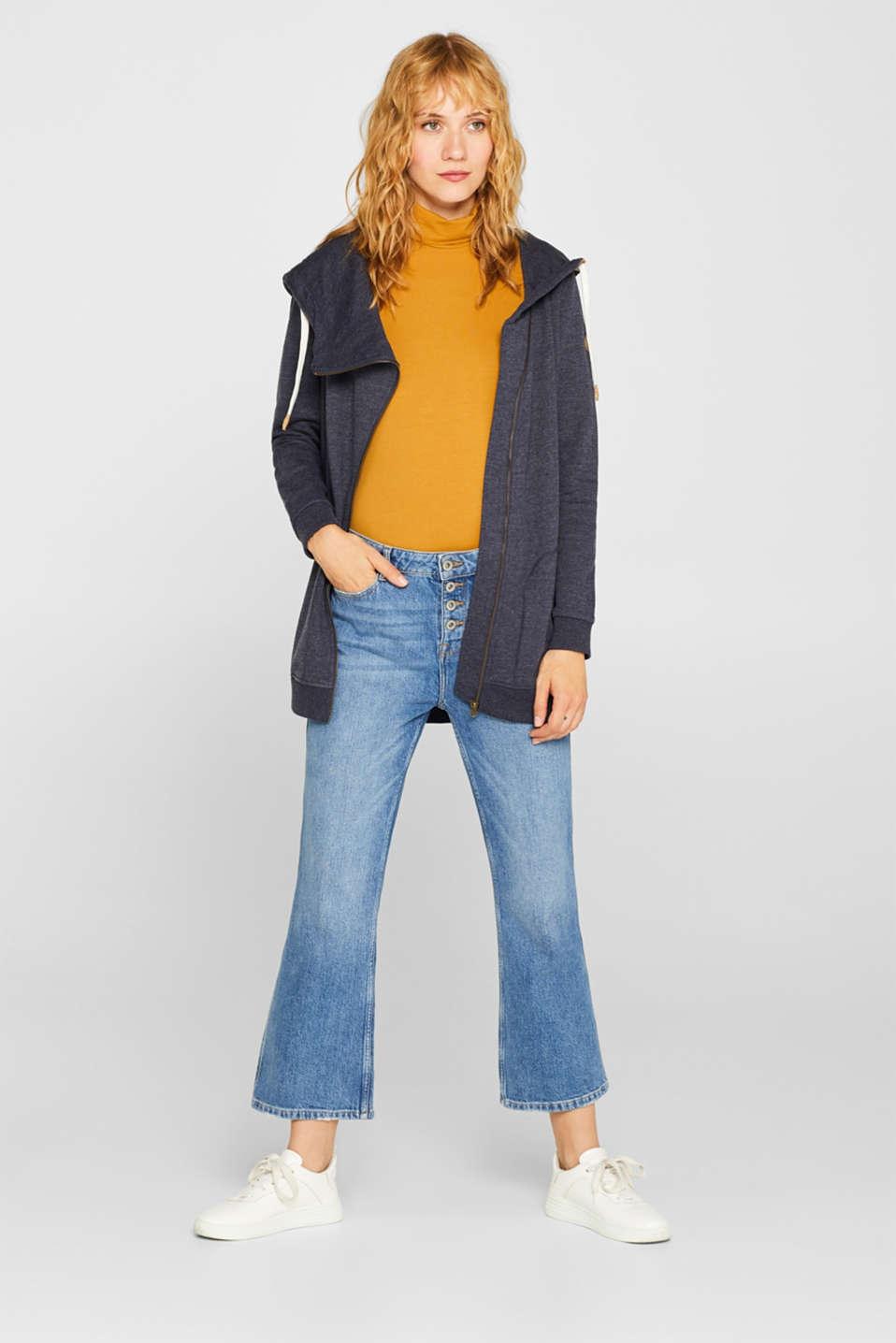 Sweatshirts, NAVY 5, detail image number 1