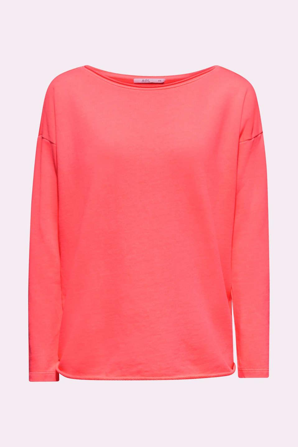 Sweatshirts, CORAL, detail image number 7