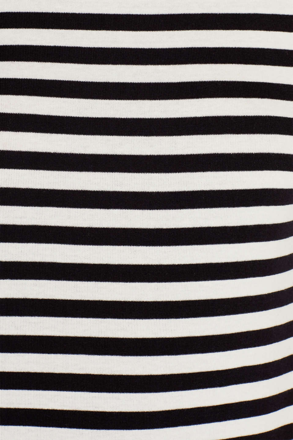 Accent trim T-shirt, 100% cotton, OFF WHITE, detail image number 4
